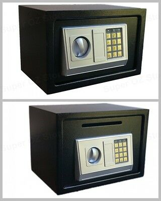 8.5L-16L Electronic Digital Security Safe Box Home Office Cash Deposit Drop slot