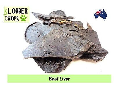 Beef Liver 1kg. Dog treat (All orders get free sample)