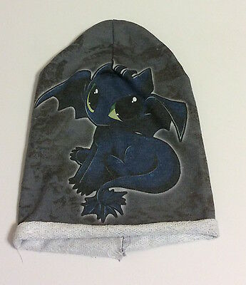 Dreamworks, How To Train Your Dragon 2, Girls Baby Toothless Dragon Beanie Hat