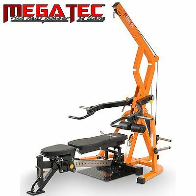 MEGATEC Triplex Multi Gym MT-TX-WS Station Bench Home Press Weight Fitness