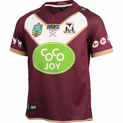 Manly Sea Eagles NRL ISC Heritage Jersey Adult Sizes S-5XL & Kids 6-14! 6