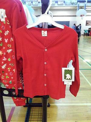 Toddler Unisex Girl Boy Red Button Cardigan Sweater SHIPS FROM CANADA