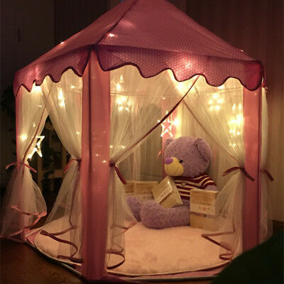 Portable Baby Kids Indoor Outdoor Play Tent Tunnel Castle House Ball Pit Toy