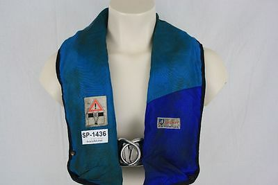 Rettungsweste Security A.W. Niemeyer Schwimmweste Ruderer Lifejacket CO2 1436