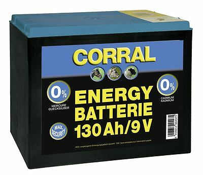 Corral Zinc-Carbon 130 Ah Dry Battery Equine Horse Fencing
