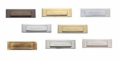Heritage Brass - V842 - Gravity Letterplate 280mm x 80mm- Solid Brass Material