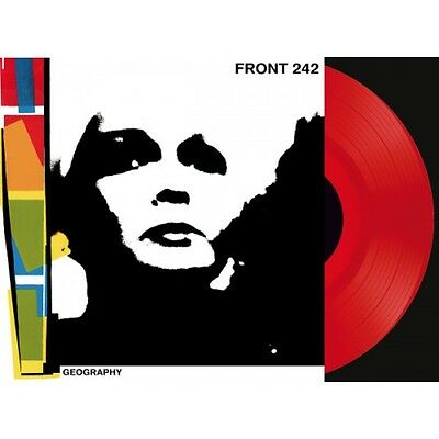 FRONT 242 Geography (LP Red VINYL + CD) LTD.242