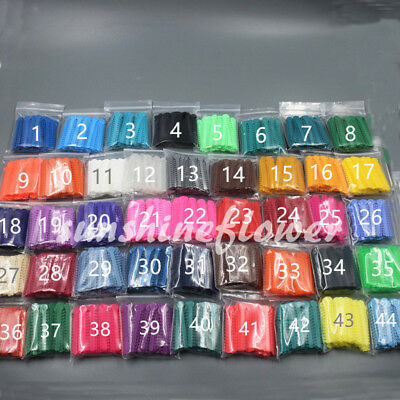 1 Bag Dental Orthodontic Ligature Ties Elastic Rubber Bands 45 Colors 1040 Pcs