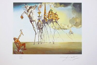"Salvador Dali ""The Temptation of Saint..."" limitiert"