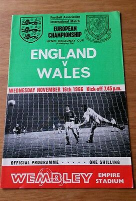 1966 England vs Wales Euro Qualifier