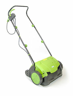 Electric Scarifier And Lawn Raker