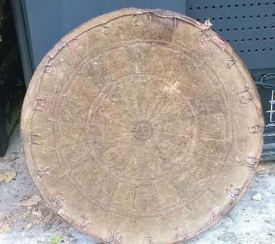 vintage antique dart board, must be at least 50 years old!