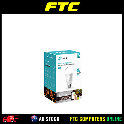 TP-Link TL LB100 Smart Wi-Fi LED Bulb With Dimmable Light A19 E27 60