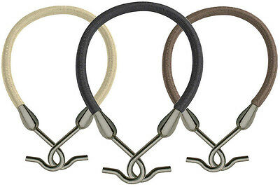 Hair Tools BUNJEE Hair Tie Band Hooks, No Ripping/Pulling - Brown Black Blonde