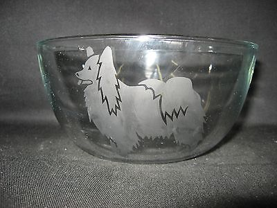 New Etched Papillon Berry Soup Dessert Cereal Salad Glass Bowl