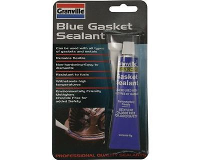 Granville Blue Silicone Instant Gasket Paste Sealant 40g