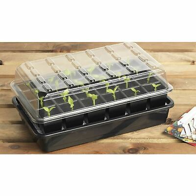 Garland 24 Cell Self Watering Seed Success Kit Propagator Greenhouse Plant Trays