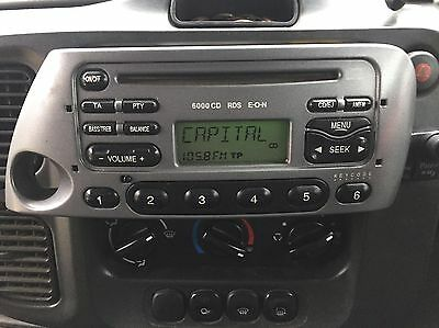 Ford Ka 6000 Radio Stereo CD Player Tested With Code REF L4