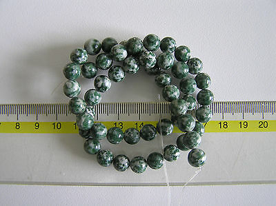 ¡¡Fantástico hilo de Ágata Árbol 8mm!! GENUINE TREE AGATE 8MM BEADS STRAND AA++