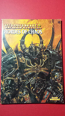 Warhammer Hordes of Chaos army book