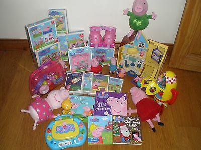 Very Large Bundle Of Peppa Pig Toys Etc.