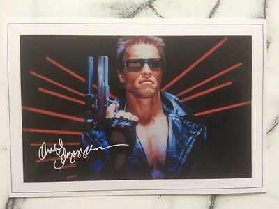 Arnold Schwarzenegger Pre Printed Photo