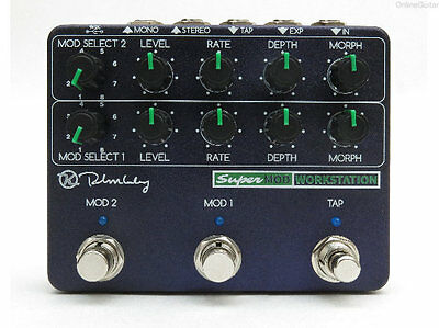 New Keeley Super Mod Workstation Analog Multi-Effects Pedal 0$ Us S&h