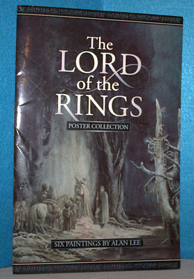 The Lord of the Rings Poster Collection-Six Paintings By Alan Lee in A Booklet