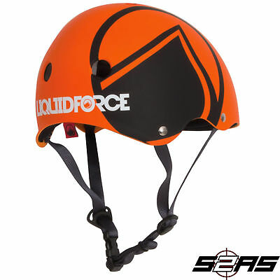 2017 Liquid Force Hero Wakeboard Helmet (Orange)