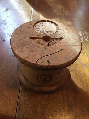 1 Spool Vintage  Magnet Wire New England Electrical Works