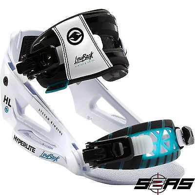 2017 Hyperlite System Pro Bindings (Lightning White)