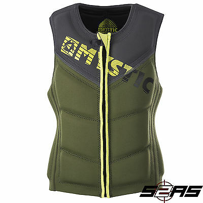 2017 Mystic Star Wakeboard Impact Vest (Army)