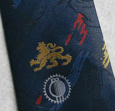 VINTAGE CRICKET TIE RACK ENGLAND V NEW ZEALAND SOUTH AFRICA EDGBASTON 1994 1990s
