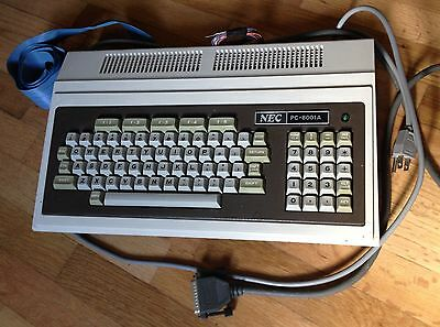 NEC PC-8001A vintage computer - Working