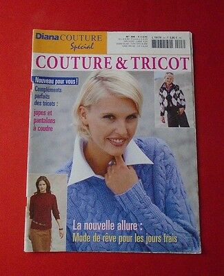 Magazine Revue Tricot Diana Couture Special Couture & Tricot N° 3H Jupes Pantalo