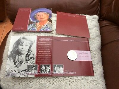 Five Pound Coin £5 Pack Queen Mother Memorial Crown, Royal Mint