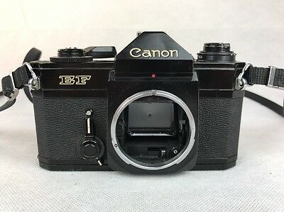 Vintage / Retro Canon EF 35 mm SLR film camera Body Only **FREE UK P&P**