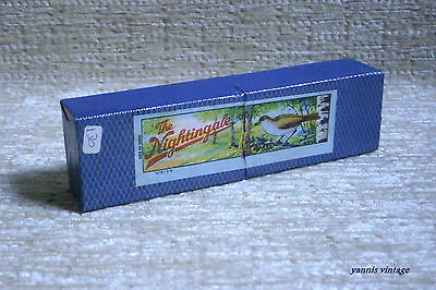 """ THE NIGHTINGALE "" NIB Made in GDR New in the box RARE VTG HARMONICA"