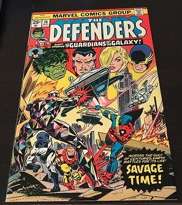 Defenders #26 NM Marvel Bronze Age Comic Guardians Of The Galaxy Vol. 2 Movie