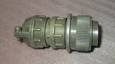 Bendix circular female connector plug 3-pin/position MS3106E16-10S