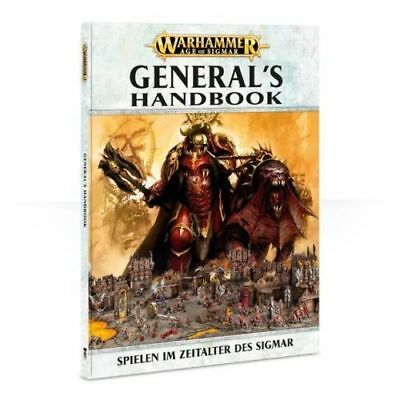 Games Workshop 80-14-04 AGE OF SIGMAR: GENERAL'S HANDBOOK (DEU)Warhammer Warhamm