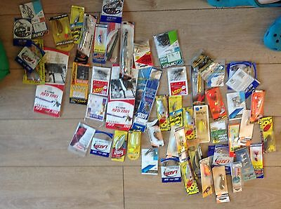 200 items of spinners lures fishing tackle wholesale  job lot
