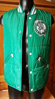 Mitchell & Ness  Boston Celtics NBA Tailgate Vest  BNWT size Medium
