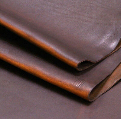 25 SF Premium Waxed Distress Upholstery Cow Hide Leather Hide Distressed Rustic