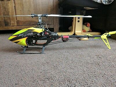 MSH mini protos rc helicopter flybarless