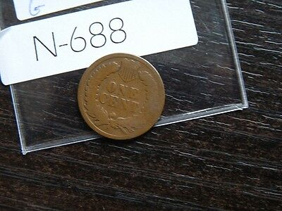 VINTAGE USA 1 CENT 1888  Indian Head   N688