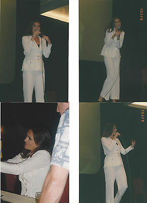 Lot Of 4 Claire Stansfield 2003 Convention Photos Alti Xena (B)