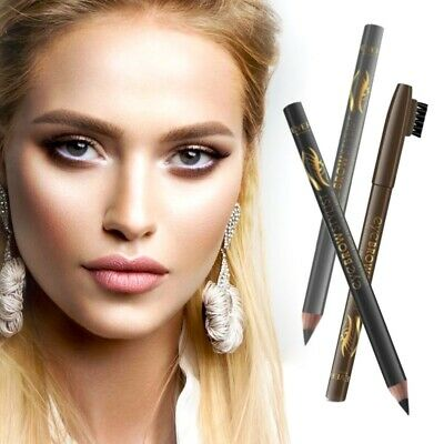 Eyebrow Stamp Natural Powder Shadow Waterproof Long Lasting Eye Brow Makeup UK
