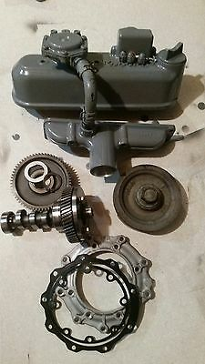 Kubota D1105 Diesel Engine Parts Lot Carrier Transicold CT3-69TV Camshaft Added