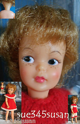 Vintage Ideal Tammy Pepper Doll Golden Brown Hair plus Clothes EVC - 1st Version